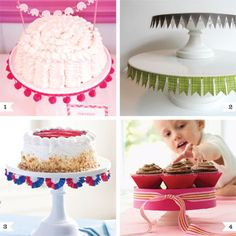 Cake stands are just a minor obsession of mine – I've never met one I didn't like! But, pretty as they are, they eat up so much storage space. A perfect solution is to invest in a simple, classic cake stand or two and then ...