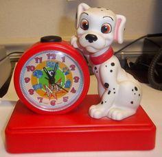 Disney's 101 Dalmatians Barking Alarm Clock