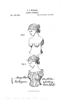 1877 Patent US187336 - IMPROVEMENT IN CORSET-DUMMIES - Google Patents
