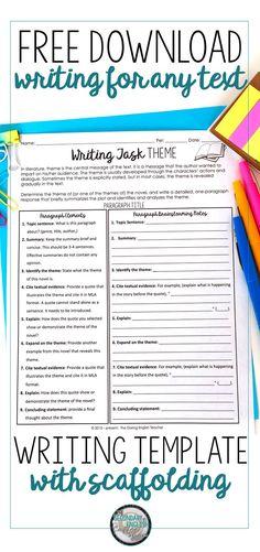 Scaffolding Writing Instruction: Why I Use Sentence Frames
