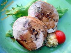 Svinjski file punjen karameliziranim jabukama :: Pork tenderloin stuffed with caramelised apples   Laka kuharica - Easy Cook
