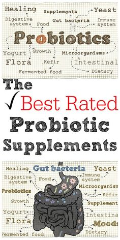 Probiotic supplements can help keep your whole family healthy. Here's a probiotic guide and a list of the best rated probiotic supplements!