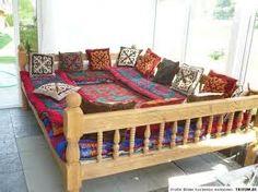 Tapchan sofa, Uzbekistan - traditional outdoor seating