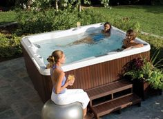 0db7d2b0f43003 Buying the first hot tub is a very special moment  don t choose without  discovering which hot tub is ideal for you. Discover Jacuzzi® small hot tub  with ...