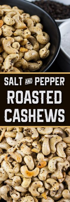 Personalized Graduation Gifts - Ideas To Pick Low Cost Graduation Offers Salt And Pepper Roasted Cashews - Tantalize Your Taste Buds With These Spicy Roasted Cashews So Simple You Will Kick Yourself For Not Trying This Recipe Sooner. Cashew Recipes, Curry Recipes, Vegetarian Recipes, Snack Recipes, Cooking Recipes, Cooking Ideas, Roasted Cashews, Roasted Nuts