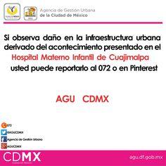 #AGUCDMX