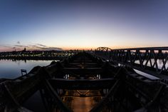 Road Bridge on the Vistula River, Tczew, Poland by Patryk Muntowski, via Behance
