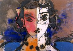 Manolo.. intriguing.. faceless compositions.. and compositions of faces. Oil.