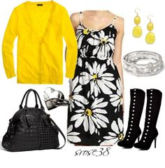 """Daisy Dress"" by srose38 on Polyvore"