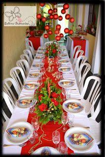 decoração e scrap: Decor de Ceia de Natal * Mesas / decor NATAL - Blog Pitacos e Achados -  Acesse: https://pitacoseachados.com  – https://www.facebook.com/pitacoseachados – https://plus.google.com/+PitacosAchados-dicas-e-pitacos http://pitacoseachadosblog.tumblr.com https://www.h2h.com.br/conselheirapitacosachados #pitacoseachados