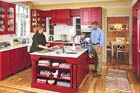 A Kitchen Opens Up for Family Living