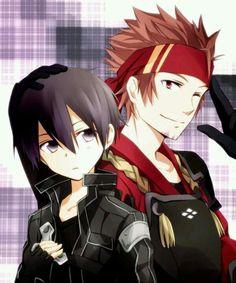 Kirito and Klien