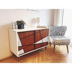 Renovation - F'anapa design  #armchair #cupboard #sideboard #kommode #design #midcentury #60s #50s #modern #furniture #scandinavian #minimal #geometric