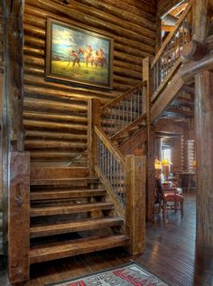 Bon Rustic Stairs Design, Pictures, Remodel, Decor And Ideas   Page 3 Cottage  Stairs