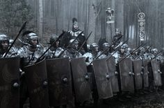 A legion at war. From the movie 'Centurion', the story of the lost legion. Ancient Rome, Ancient Greece, Ancient History, Imperial Legion, Roman Britain, Roman Legion, Roman Soldiers, Roman History, Dark Ages