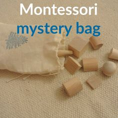 Montessori: mystery bag (o sacco dei misteri)