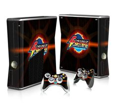 The King of Fighters sticker skin for Xbox 360 slim