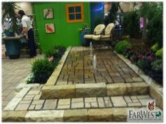 Low Maintenance Water Feature Built At The Boise Flower U0026 Garden Show.  FarWestLandscape Design Team