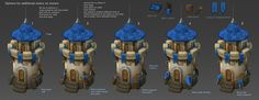 ArtStation - Tower designs/Paintovers, Mark Henriksen
