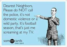 Football season is back!  Tag everyone this reminds you of! lol