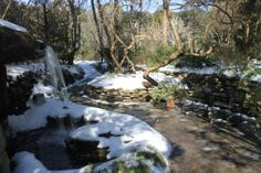 2014 Grotto waterfall in snow
