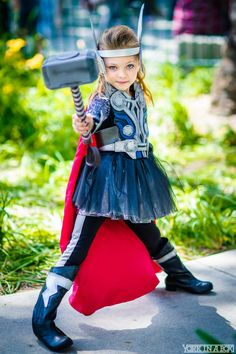 Cosplay Blog: Lady Thor from Marvel Universe Cosplayer: Miley...
