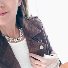 Love @pinterestingplans wearing our Lucy Collar #necklace #blogger #bloggerstyle