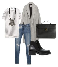 """""""Untitled #48"""" by iphigeniabythesea on Polyvore featuring Zara, Chanel, zara, fallstyle and fall2015"""