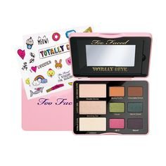Too Faced's Totally Cute Eye Shadow Collection comes with totally cute limited edition stickers to jazz up your palette.