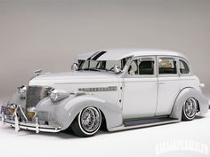 The 1939 Chevrolet Master Deluxe has some sentimental value to Robert, as this car became a project that he and his family all took part in. - Lowrider Magazine