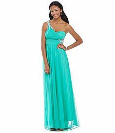Speechless Juniors Dress- Strapless Sequin Ombre-Print High-Low ...
