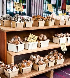 Farmers market, great unique idea for placement products, display, wood