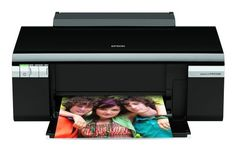 Creates dpi prints that are smudge, scratch, fade, and water resistant Epson Stylus Photo Ultra Hi-Definition Photo Printer Epson Laser Printer, Inkjet Printer, Printer With Cheapest Ink, Printers On Sale, Portable Printer, Printer Driver, Black Ink Cartridge, Thing 1, Bound Book