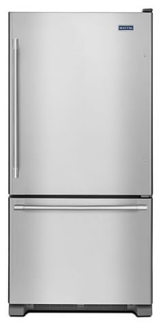 Abt has special shipping on the Maytag 22 Cu. Ft. Stainless Steel Bottom Freezer Refrigerator - MBF2258FEZ. Buy from authorized internet retailers for free tech support.