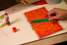 Making your own art journal