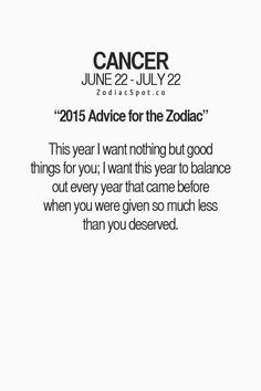 Fun Horoscope For Today Cancer Astrology Cancer Horoscope