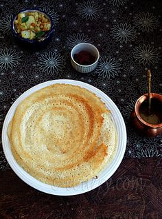 Dosa – Rice and Lentil Crepes