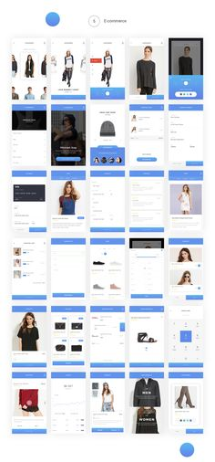 Knock – First mobile UI kit with Wireframe on Behance