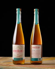 Saint Benevolence Rum on Packaging of the World - Creative Package Design Gallery