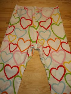 Tutorial para coser un pantalon de pijama