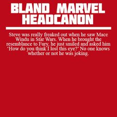 Bland Marvel Headcanons this made my evening 100,000 tines better