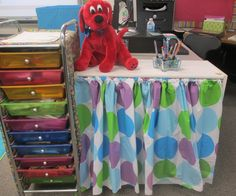 Classroom setup: three hours and done! Kindergarten Classroom Decor, Diy Classroom Decorations, Classroom Setup, Classroom Organization, Primary Classroom, Dr Suess, Eric Carle, Mickey Mouse, Disney Family