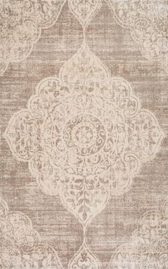 The CFVI12C Grey from the Vintage Armanda collection is a machine made construction made of 100% viscose in a transitional category of style. The rugs in this collection are approximately 1/4 inch thick and constructed in Turkey by nuLOOM and ships brand new, first quality from their warehouse via UPS.