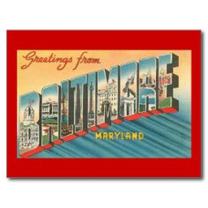 Greetings from Baltimore, Maryland Postcard We have the best promotion for you and if you are interested in the related item or need more information reviews from the x customer who are own of them before please follow the link to see fully reviewsDiscount Deals          	Greetings fr...