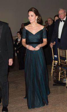 Kate Middleton St. Andrew's 600th Anniversary Dinner in New York City, 2014  GETTY