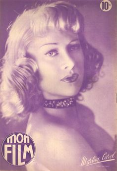 Martine Carol, very popular french actress in 40's and 50's