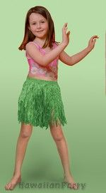 Hula Mini Skirt - Green
