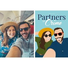 Crate your customised Partners In Crime poster