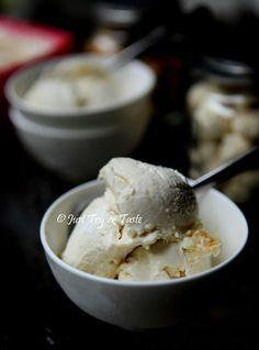 Just Try & Taste: Resep Es Krim Durian Tanpa Alat Pembuat Es Krim