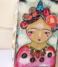 Frida in the clouds original